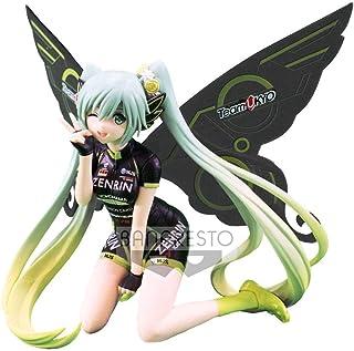 BANPRESTO Vocaloid Miku Hatsune Figure- Racing Cycling Cyber Fairy 13CM (Nintendo Switch///PS4)