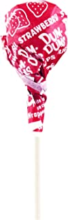 Red Dum Dums Color Party - Strawberry Flavored - 75 Count Bag - 12.8 ounces - Includes Free How To Build a Candy Buffet Guide
