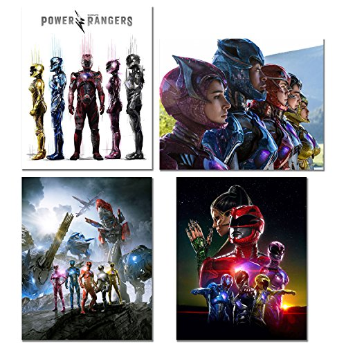 Power Rangers Movie Prints - Set of 4 (8 inches x 10 inches) Poster Photos