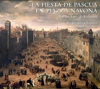 La Fiesta De Pascua En Piazza Navona by Victoria (2012) Audio CD