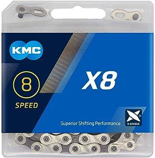 KMC B1 Wide Cadena 112 Link Unisex Adulto Plata