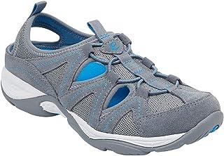 Easy Spirit Womens Earthen Fabric Low Top Bungee Walking Shoes