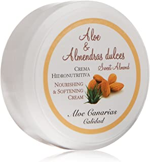 Aloe Canarias 200070 - Crema de aloe vera y almendras dulces hidronutritiva