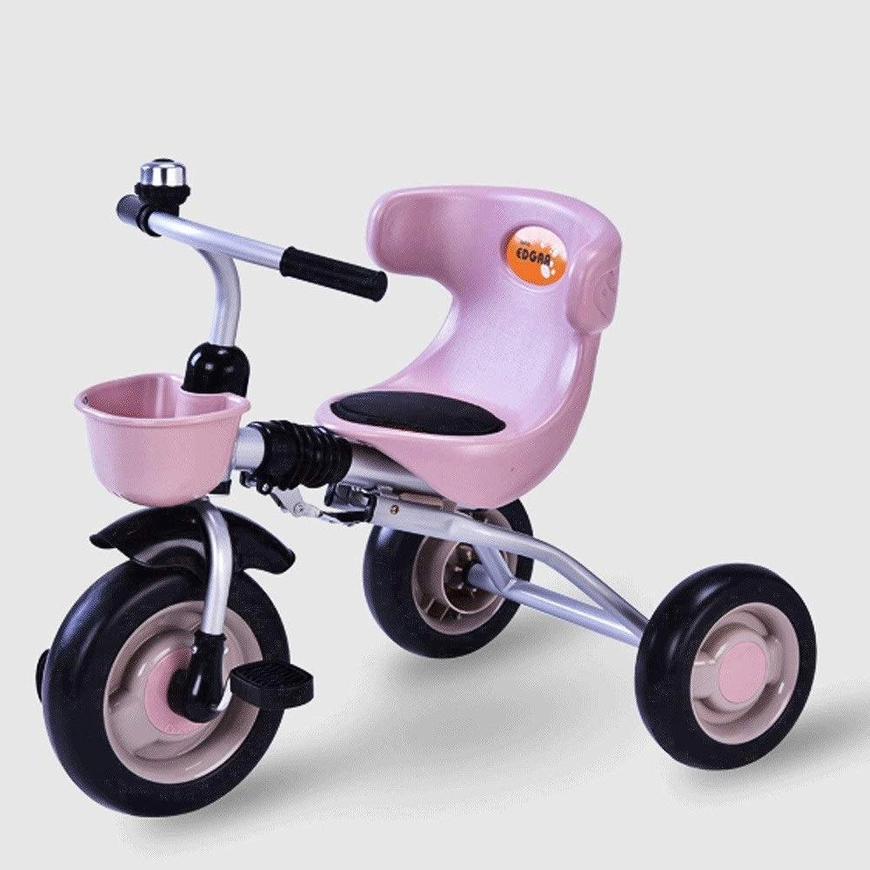 envío gratis Mopoq Bicicleta de Tres Tres Tres Ruedas para Niños 1  5 años de Edad Bebé Infantil Niño Luz Instalación Gratuita Bicicleta Plegable Boy Girl Peso máximo 60 KG Marrón  Con precio barato para obtener la mejor marca.