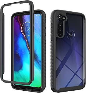 Hicaseer Case for Moto G Fast,Ultra-thin PC+TPU Textured Double Soft Shock and Drop Resistant Case for Motorola Moto G Fas...