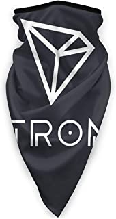 Yuanmeiju Banda Scarf,Tron TRX Blockchain Neck Warmer,Sweat ...
