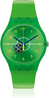 Swatch Entusiasmo Green Dial Unisex Watch SUOZ175
