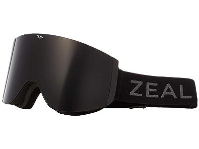 Zeal Optics Hatchet (Dark Night w/ Dark Grey + Sky Blue Mirror) Snow Goggles