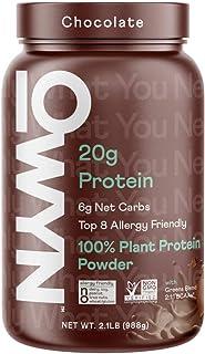 Owyn - 100% Vegan Plant-Based Protein Powder | Chocolate 2.4 lb Tub | Dairy-Free, Gluten-Free, Soy-Free, Allergy-Free, Veg...