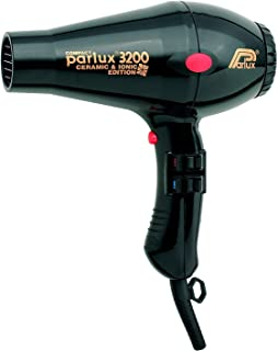 Parlux 3200 Ceramic & Ionic 1900W Hair Dryer, Black