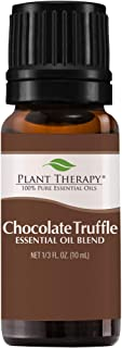Plant Therapy Chocolate Truffle Essential Oil Blend 10 mL (1/3 oz) 100% Pure, Undiluted