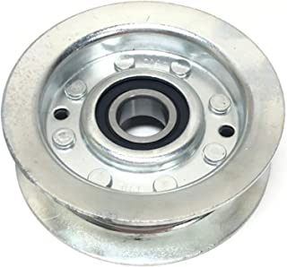 Flat Idler Pulley Replaces John Deere, Scotts, Sabre Pulley # GY22172 or GY20067