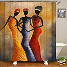 MihokoTokoro Shower Curtain Women Nude Sexy Ass Hot Bikini Girls on The Beach Waterproof Polyester Fabric Bath Curtains Bathroom Accessories