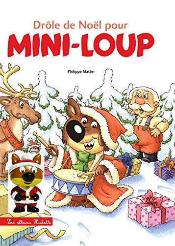 Mini-Loup - Drôle de Noël pour Mini-Loup + 1 figurine
