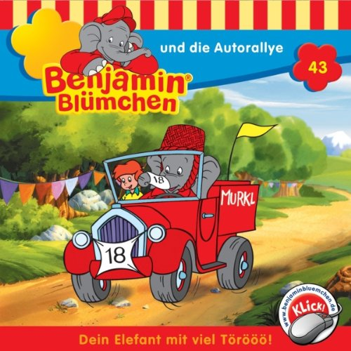 Benjamin und die Autorallye audiobook cover art