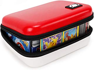 Bigib Lets Go 400 Cards Fitted Carrying Case Compatible with PM Cards Ex Gx Card Holder..