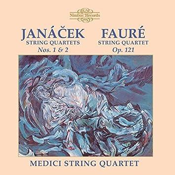 Janáček & Fauré: String Quartets