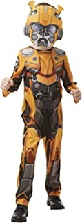 Rubie's Official Transformers Bumblebee The Movie Costume, Bumblebee Character Childs Size Small Age 3-4 years