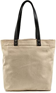 Muchuan Woman Canvas Shopping Tote Bag with Model Number 6119S
