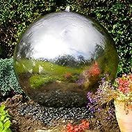 Sphere Stainless Garden Feature Lights