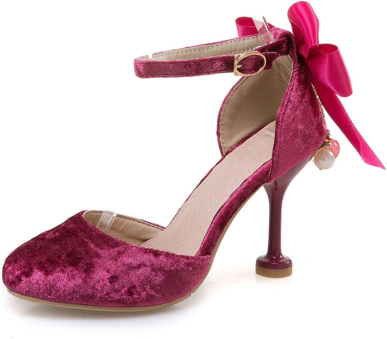 Ladies Thin High Heel Sweety Sandals Women Bowtie Bowknot Tassels Ankle Strap shoes Women