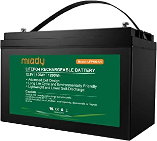 Best lifepo4 battery 12v 40ah Reviews