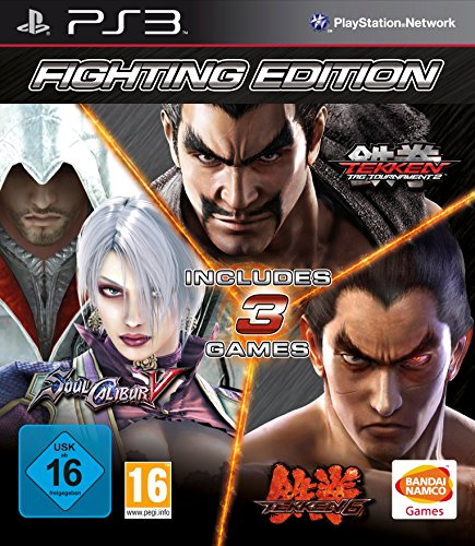 Fighting Edition: Tekken 6/Tekken Tag Tournament 2 And Soul Calibur V [Importación Inglesa]