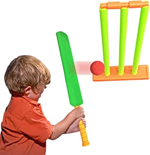 Kids Cricket Set Funny NBR Foam Cricket Set Backyard Cricket Set Kids Sports Toy