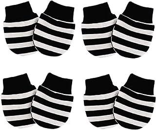 Newborn Essentials Must Haves, Dollarrich No Scratch Baby Mittens For Newborn Baby (4-pairs)
