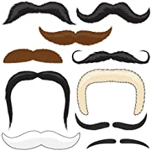 Mr. Moustachio's Stach'oos, Temporary Mustache Tattoos