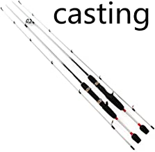 Erpot 1.8m 2 Segments Spinning/Casting Lure wt.1/64 1/8 Fishing rods Weight 70g / 90g Forging Sticks 99% Carbon Lure Fishing Rod