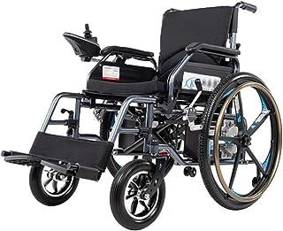 Sillas de ruedas eléctricas para adultos Silla de ruedas eléctrica plegable de peso ligero, plegable Powerchair con 12Ah Li-ion, plegable portátil de energía Silla scooter motorizado for discapacitado