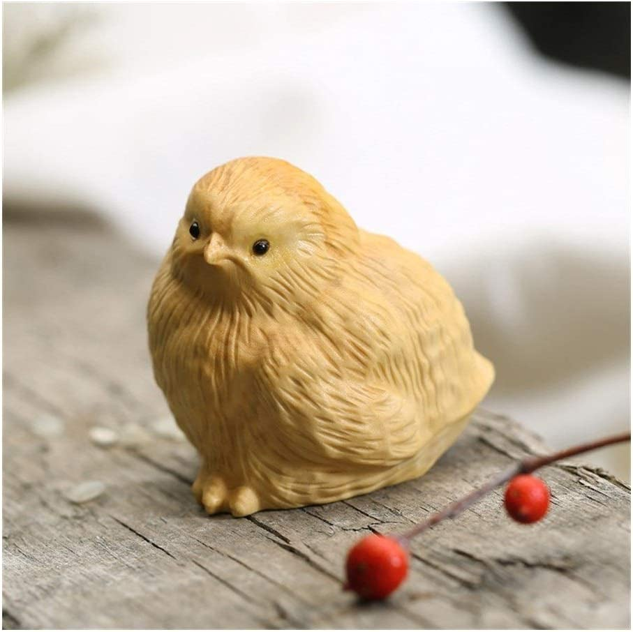 WD Wood Carving Chicken Crafts OFFicial shop Decoration Max 90% OFF Home G for Suitable