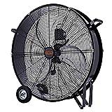 VINCO Ventilatore Industriale Da Pavimento Terra Metallo 70625 120w Dm 60