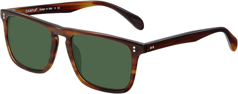Carfia Classic Direct stock discount Rectangle Polarized Memphis Mall Sunglasses UV Protect for Men