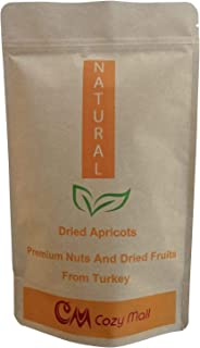 COZY MALL Premium VERY FRESH Dried Turkish Apricots Natural Vegan NON-GMO (Apricot 1 Lb) Fiber-Rich Good for Digestion Exc...