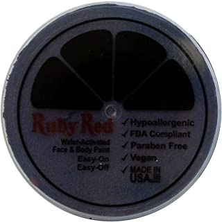 Ruby Red Paint, Inc. Face Paint, 75ML - Charcoal