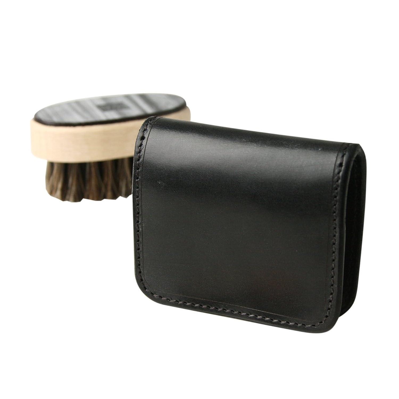 (ファイブウッズ) FIVE WOODS CASK キャスク ボックスケース 「BOX CASE」 ブラック 日本製 ブライドルレザー 本革 メンズ 小銭入れ 38062 wl3690