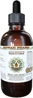 Reishi Alcohol-FREE Liquid Extract - Tonic of Emperors, Organic Reishi Mushroom (Ganoderma Lucidum) Dried Mushroom Glycerite Natural Herbal Supplement, Hawaii Pharm, USA 2 fl.oz