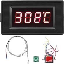 SANON Medidor de Temperatura de Termopar Tipo K de Precisión de Pantalla Digital Industrial 220V Dyg-5135