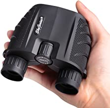 SkyGenius 10×25 Compact Binoculars for Adults, High Powered Binoculars Pocket for..
