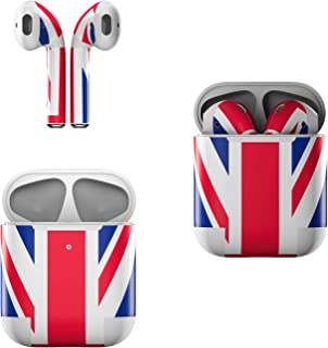 Skin Decals for Apple AirPods - Union Jack - Sticker Wrap Fits 1st and 2nd Generation