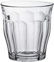 Duralex Made In France Picardie Clear Tumbler, Set of 6, 10-1/2-Ounce