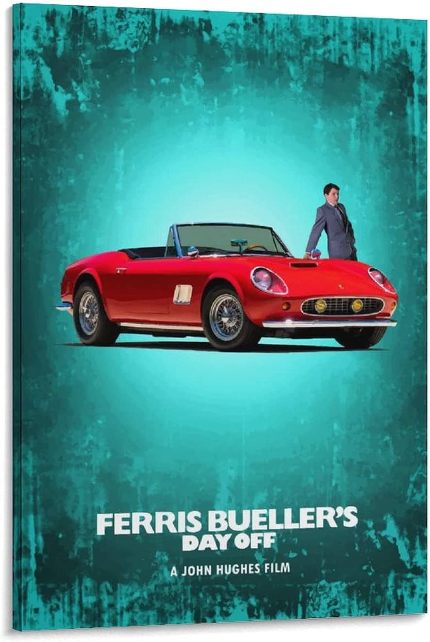 Ferris Buellers Day Off Poster Decorative Movie Price reduction Large discharge sale Painting