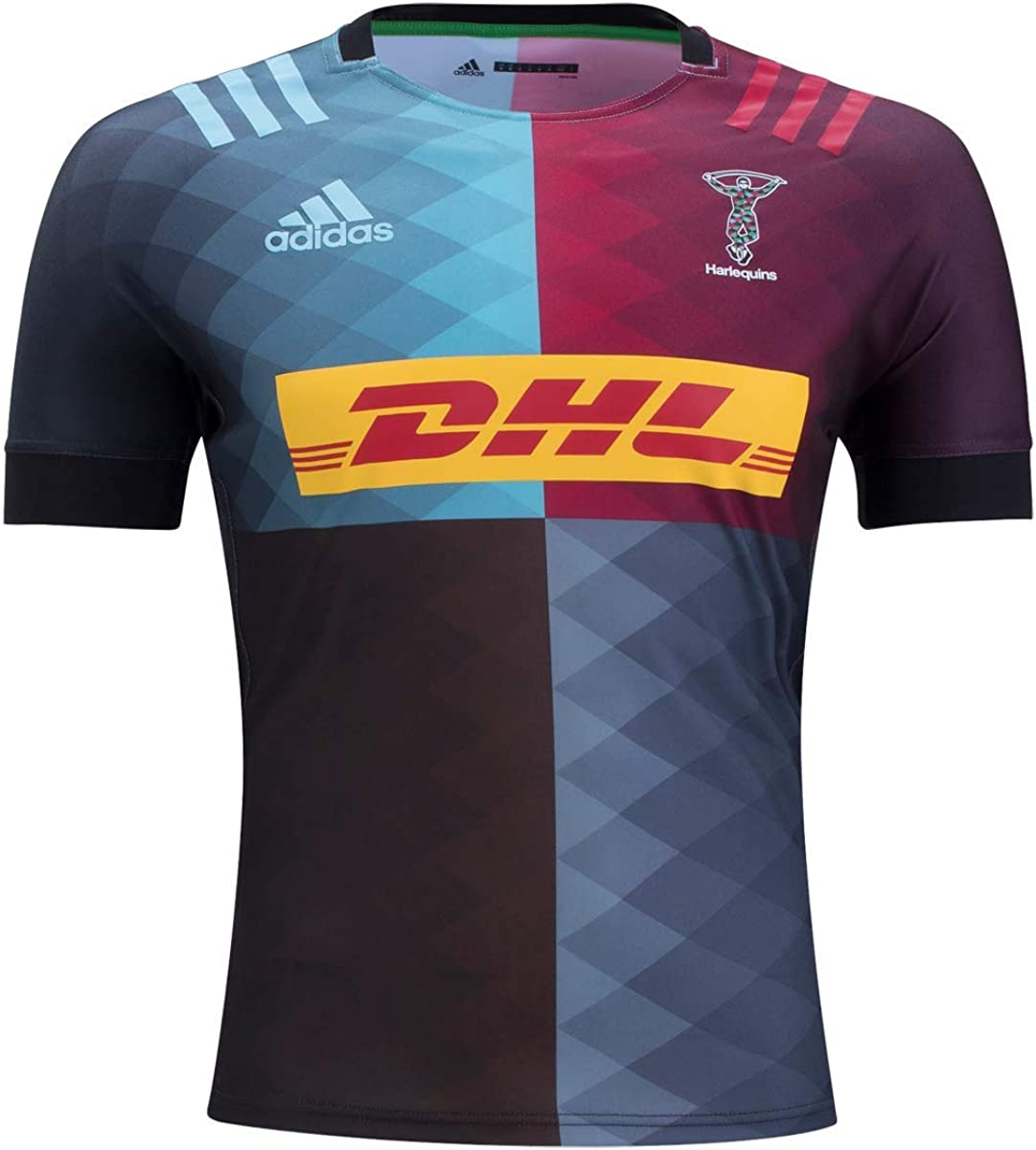 adidas Harlequins Home Sales for sale security Rugby Jersey