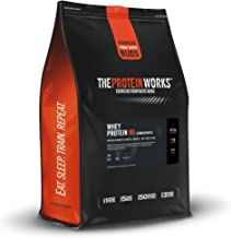 THE PROTEIN WORKS Whey Protein 80 Concentrate Powder 82 Percent Protein Low Sugar High Protein Shake Wild Raspberry 500 g Estimated Price : £ 14,49