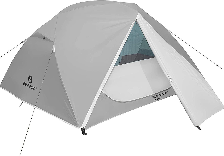 Bessport Camping Tent 3 Person Two D Lightweight Sale item Albuquerque Mall Waterproof