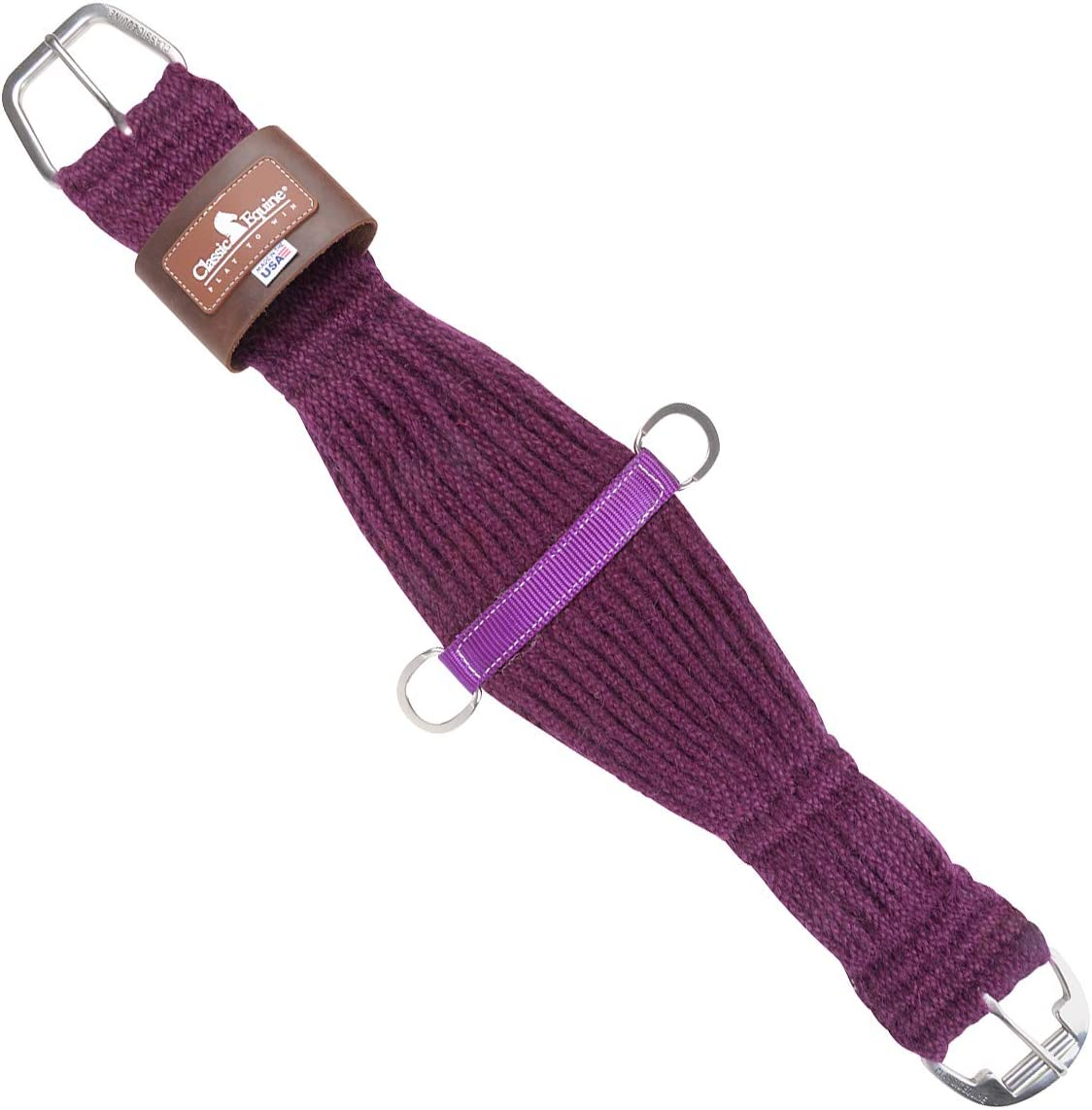 Classic Equine 27 Strand Mohair Cinch
