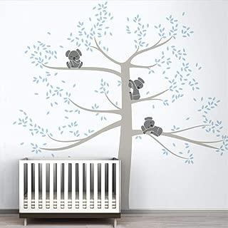 Amovible Hiboux Famille Branche Autocollant Mural Décalcomanies PVC Nursery Decor Nouveauté