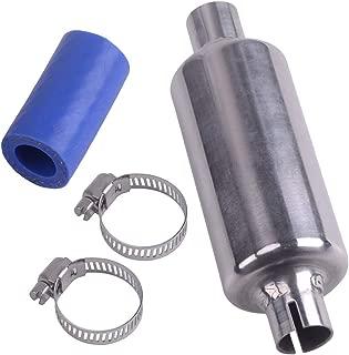 4pcs/kitMetal Gas Exhaust Pipe Muffler Fit for HPI BAJA 5B SS ROVAN Scale 1/5 RC Car Size: 10.8x3.5cm